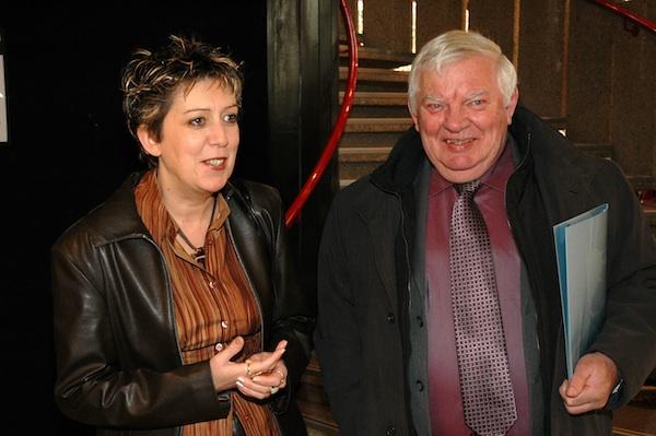 Jean Taillandier, en compagnie de Maryline Daunis